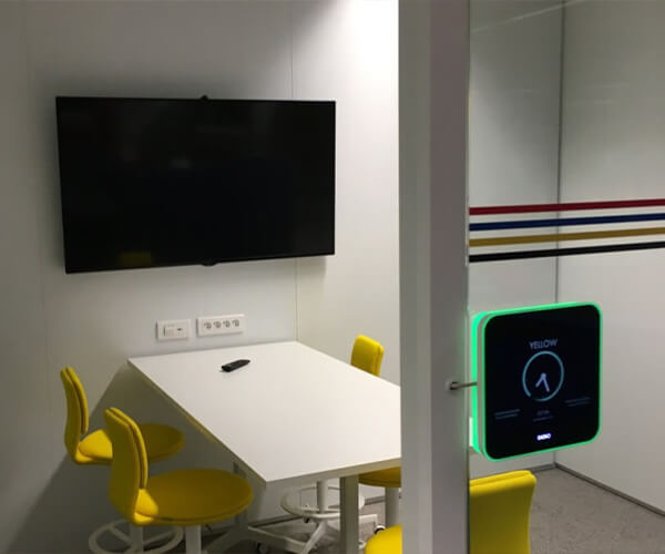 Room Booking Systeem 600 x 500